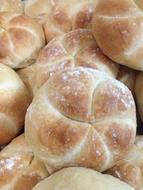 kaiser rolls real bread pan