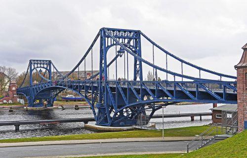 kaiser wilhelm bridge wilhelmshaven port area