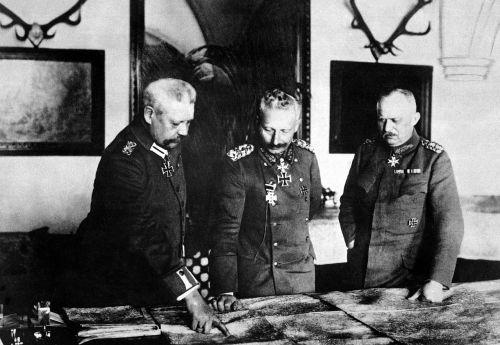 kaiser wilhelm ii general erich ludendorff hindenburg