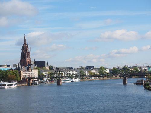 kaiserdom st bartholomäus frankfurt am main germany sacred architecture