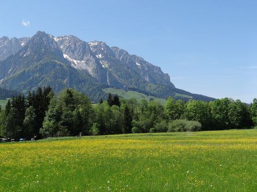 kaiserwinkl tyrol mountains
