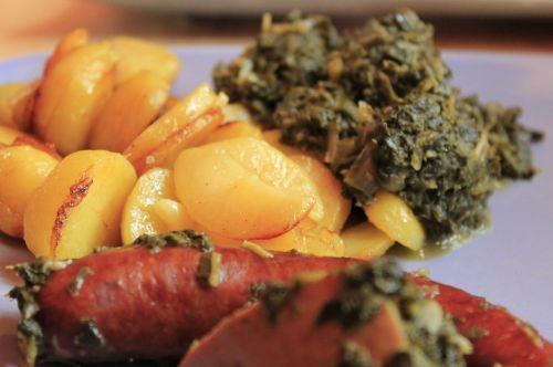 kale sausage potatoes