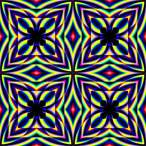 kaleidoscope pattern design