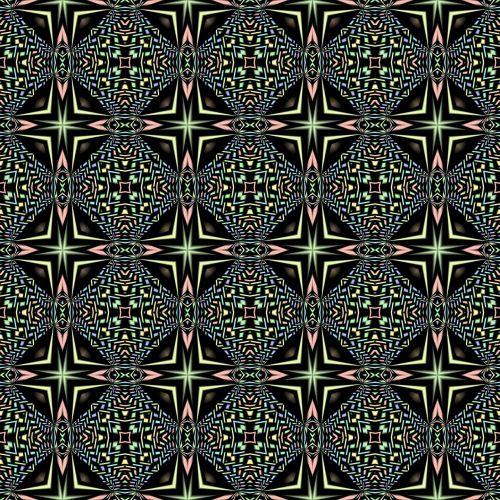 kaleidoscope pattern seamless