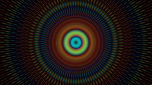 kaleidoscope pattern mantra