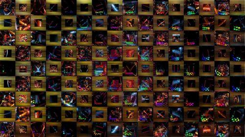 kaleidoscope pattern abstract art