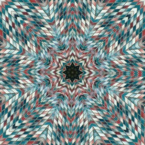 kaleidoscopes mosaics circular forms