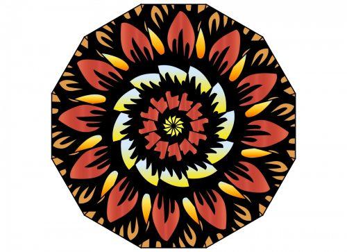 Kaleidoscopic Flower 2