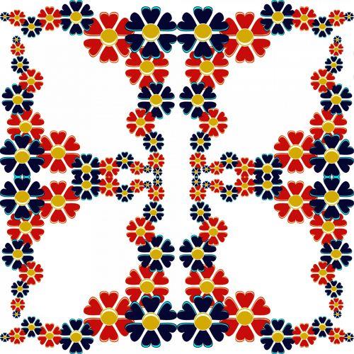 Kaleidoscopic Frame