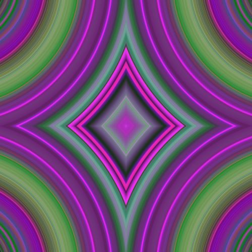 Kaleidoscopic Rhomb