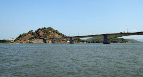 kali river bridge estuary