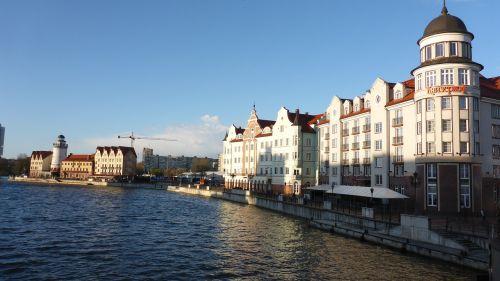 kaliningrad river city
