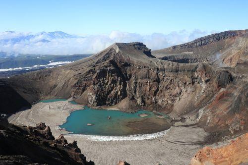 kamchatka vulcano gorely