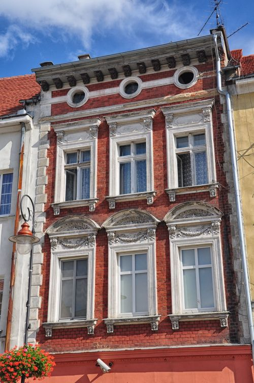 kamienica façades architecture