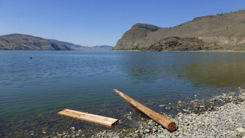 kamloops lake lake wood