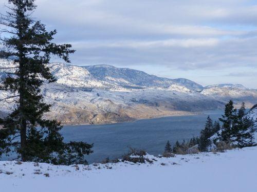 kamloops lake british columbia canada