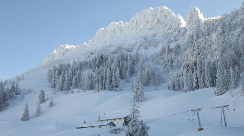 kampenwand winter skiing
