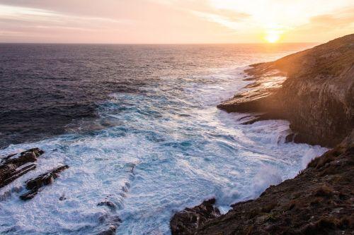 kangaroo island sunset australia