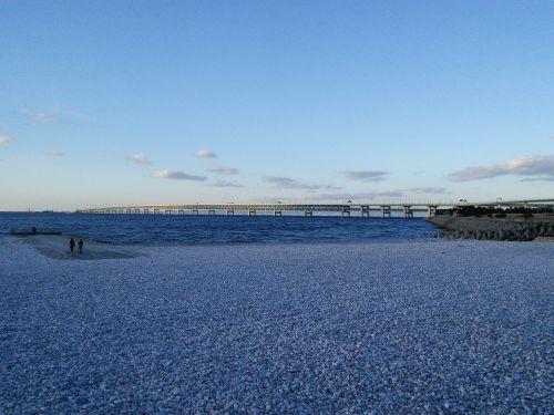 kansai airport access bridge rin rinku town seaside green space