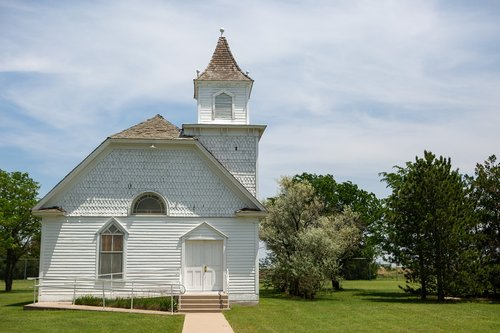 kansas  church  rural