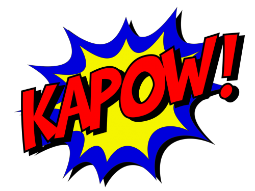 kapow comic comic book