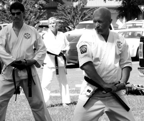 karate sword martial arts