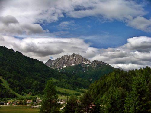 karawanken slovenia the gorenjska region