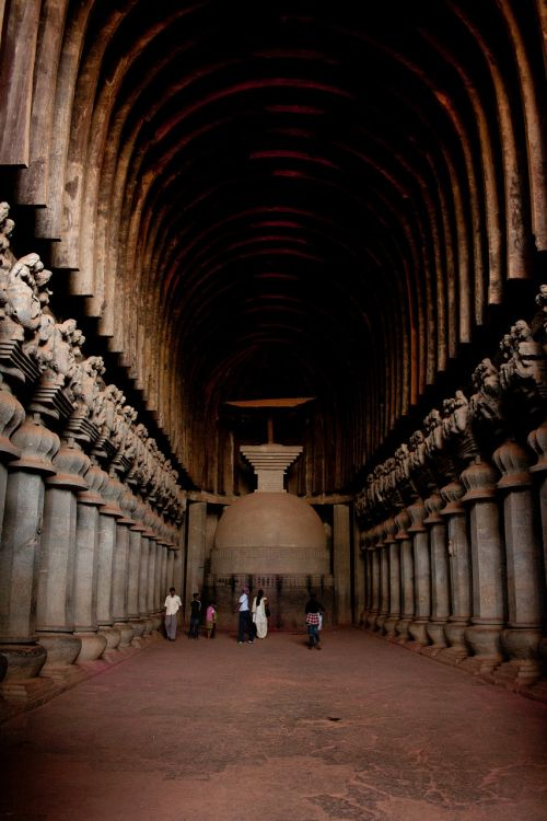 karla caves india buddhism