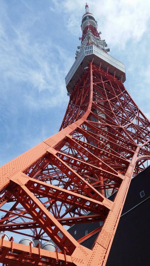 tokyo tower shiba minato-ku