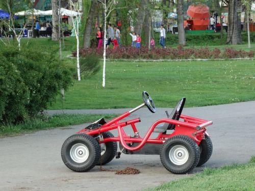kart pedals park