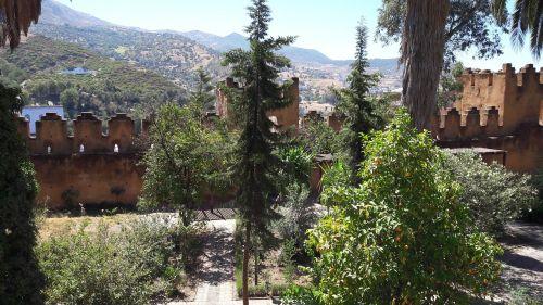 kasbah landscape mountain