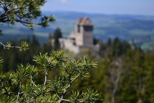 kašperk  castles  czech republic