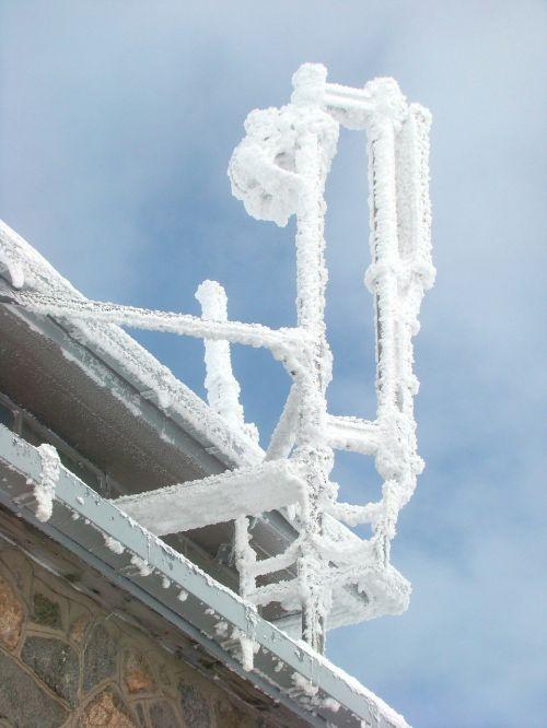kasprowy wierch frost hard rime
