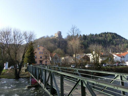 kastelburg a ruined castle waldkirch