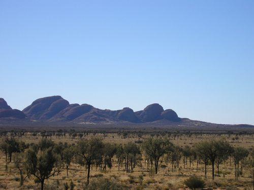 kata tjuta outback desert