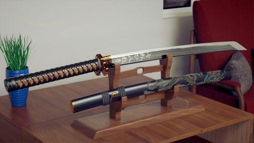 katana japan samurai