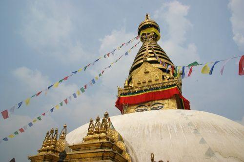 stupa kathmandu buddhist