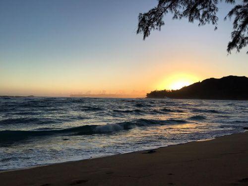 kauai beach ocean