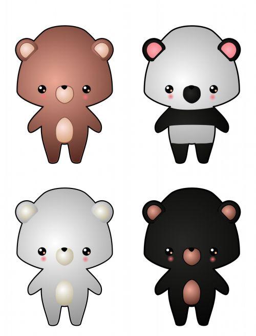 Kawaii Bears