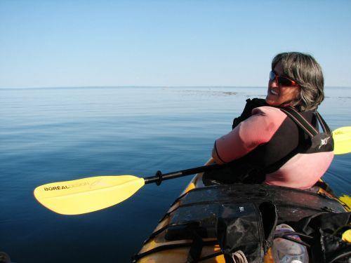 kayak kayaking tadoussac