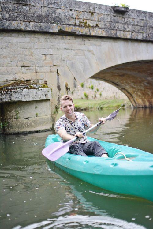 kayak fun vacation