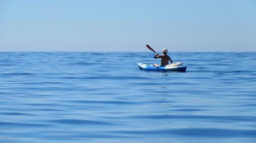 kayak sea côte d ' azur