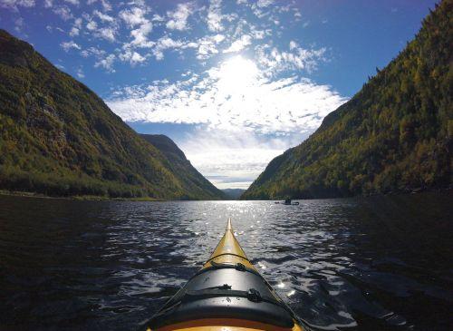 kayak nature river