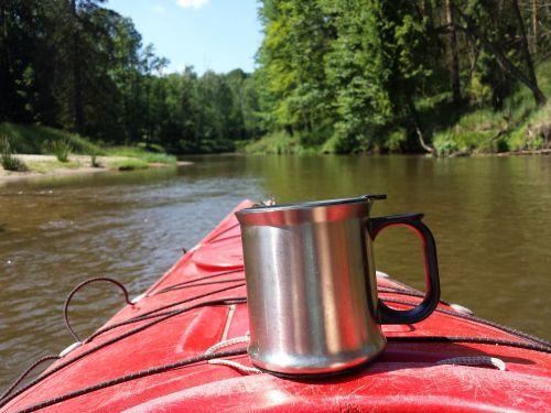 kayak tea mug