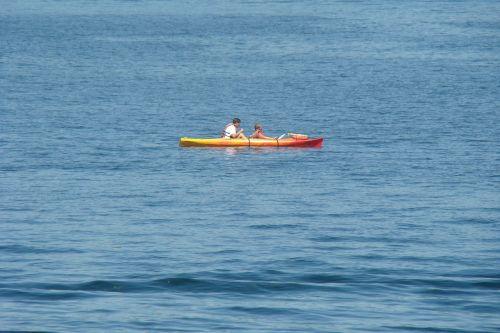 kayak water fun