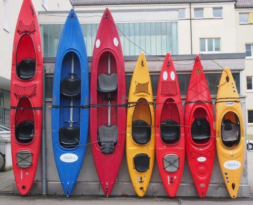 kayak canoeing rowing boat