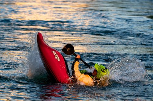 kayak white water water sports