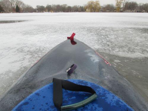 Kayak On Ice (POV)