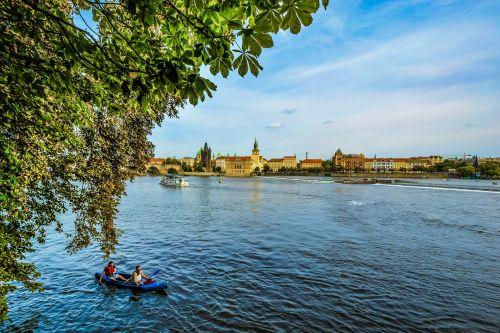 Kayak On The Vltava