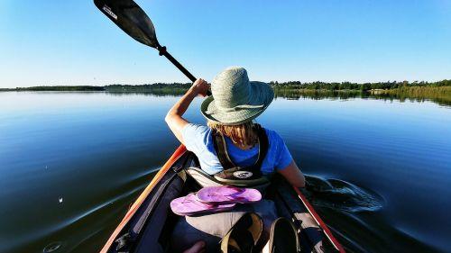 kayaking paddling vancouver lake